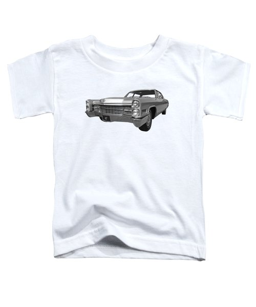 Silver Cadillac 1966 Toddler T-Shirt