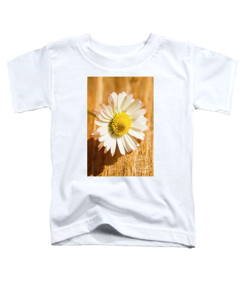 Simple Camomile  In Sunlight Toddler T-Shirt