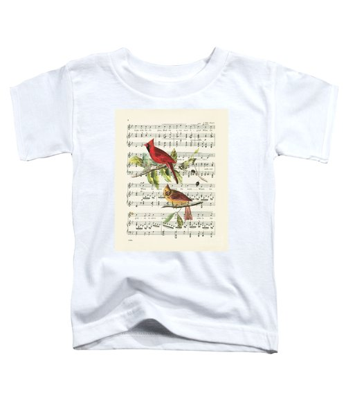 Singing Cardinals Toddler T-Shirt
