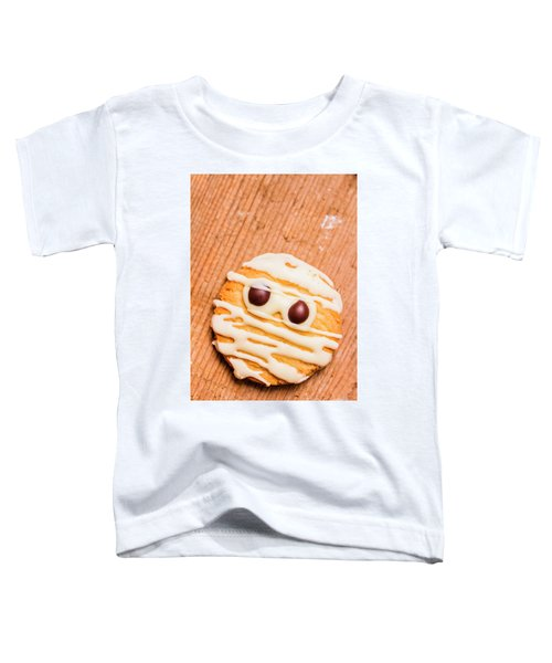 Single Homemade Mummy Cookie For Halloween Toddler T-Shirt