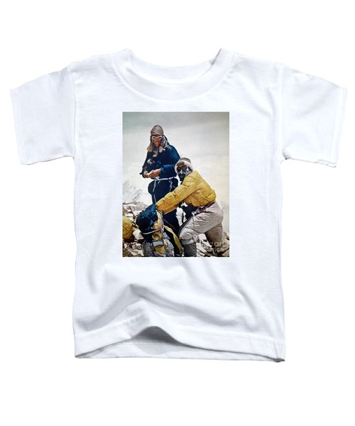Sir Edmund Hillary Toddler T-Shirt