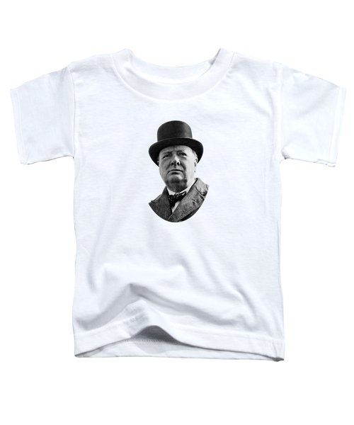 Sir Winston Churchill Toddler T-Shirt by War Is Hell Store