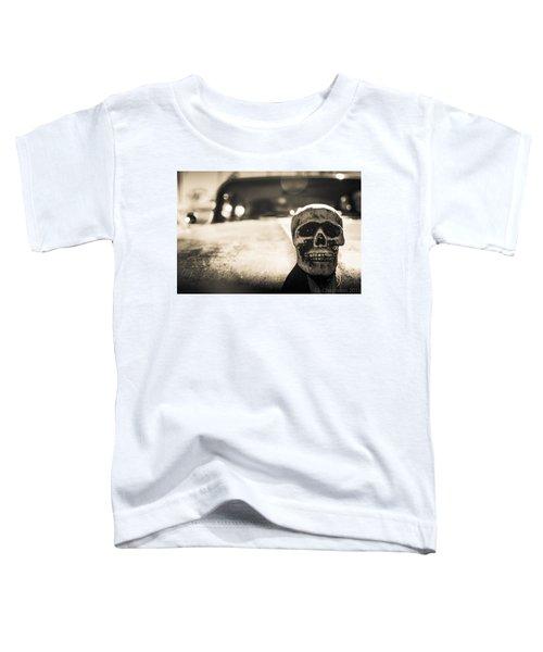 Skull Car Toddler T-Shirt