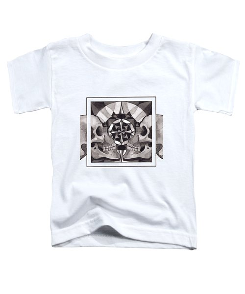Skull Mandala Series Nr 1 Toddler T-Shirt