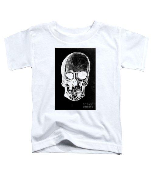 Skull Study 3 Toddler T-Shirt