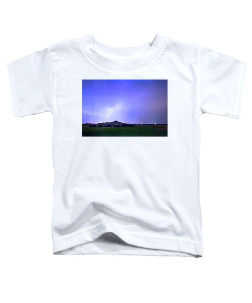 Toddler T-Shirt featuring the photograph Sky Monster Above Haystack Mountain by James BO Insogna