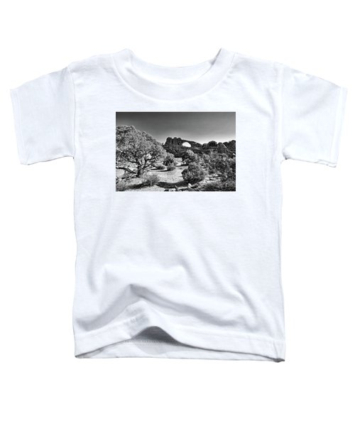 Skyline Arch In Arches National Park Toddler T-Shirt