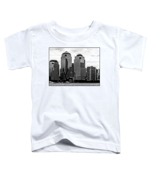 Skyline Nyc River View  Toddler T-Shirt