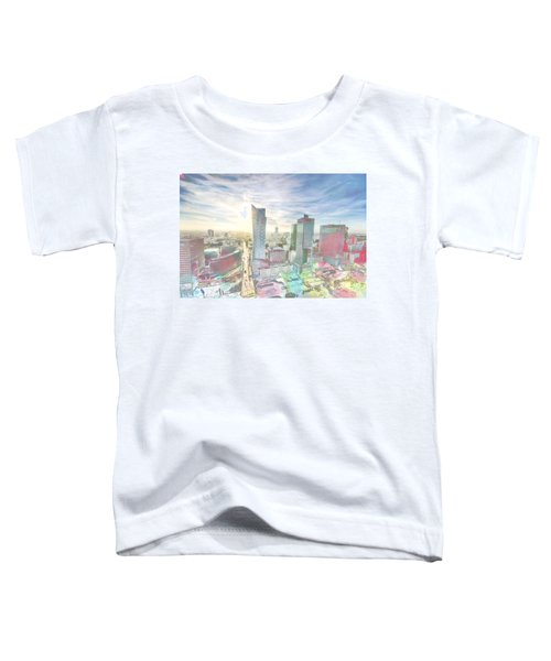 Skyline Of Warsaw Poland Toddler T-Shirt