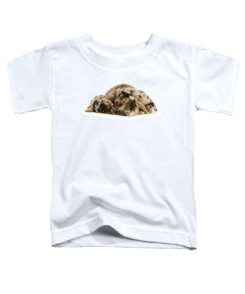 Sleep In Camouflage Toddler T-Shirt