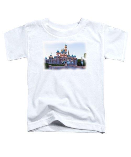 Sleeping Beauty's Castle Disneyland Toddler T-Shirt