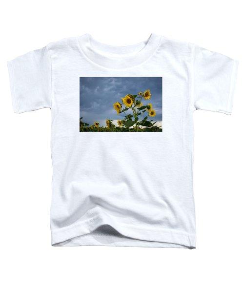 Small Sunflowers Toddler T-Shirt