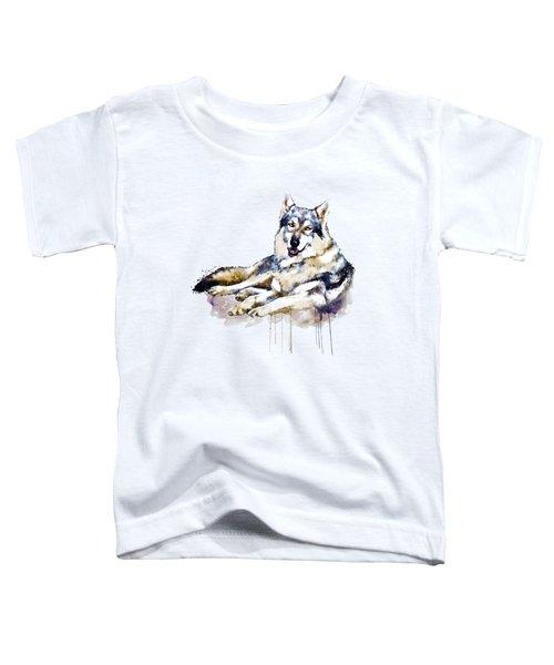 Smiling Wolf Toddler T-Shirt