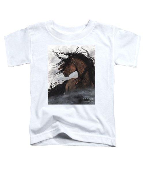 Smoke Majestic Horse Toddler T-Shirt