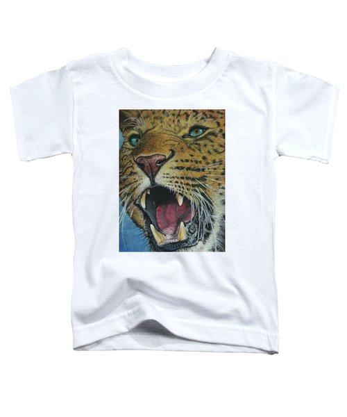 Snarl...amur Leopard Toddler T-Shirt