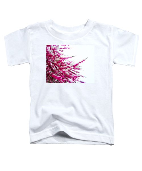 Snow Blossoms Toddler T-Shirt
