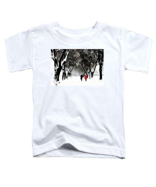 Snow In Bavaria, Winter Landscape Toddler T-Shirt