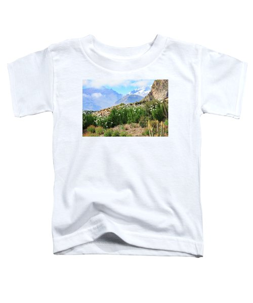 Toddler T-Shirt featuring the photograph Snow In The Desert by David Chandler