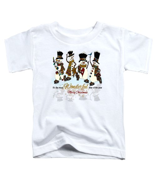 Snow Play Toddler T-Shirt