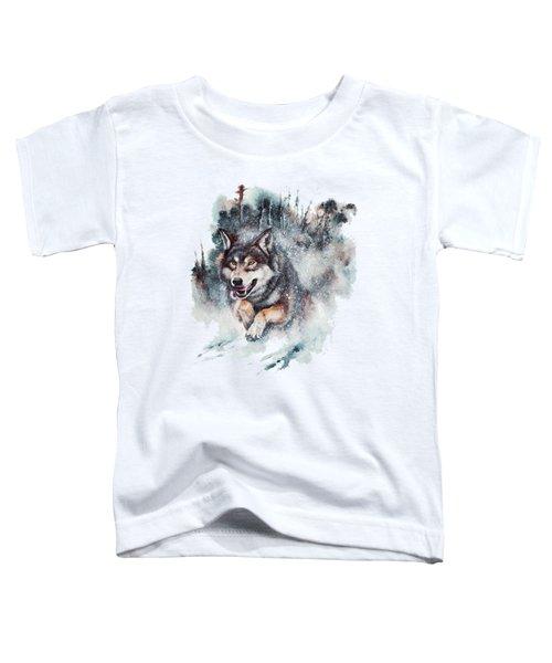Snow Storm Toddler T-Shirt