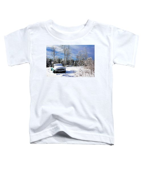 Snow Truck Toddler T-Shirt