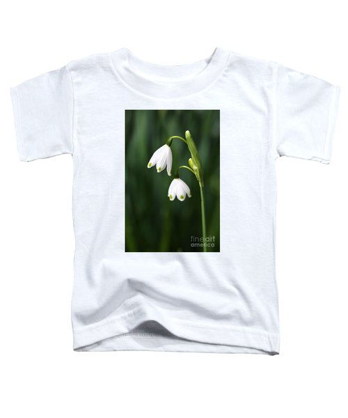 Snowdrops Painted Finger Nails Toddler T-Shirt