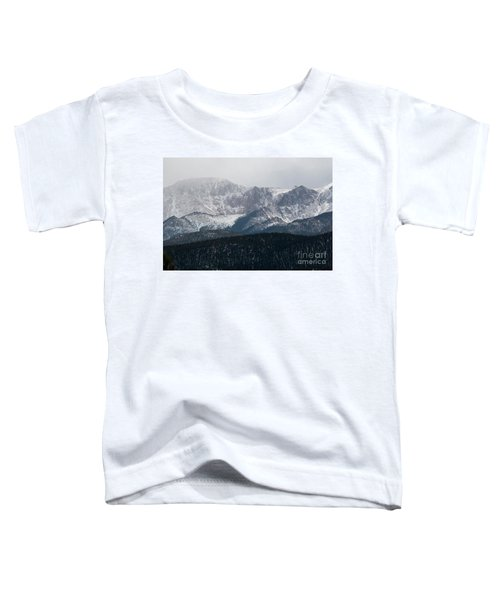 Snowstorm On Pikes Peak Toddler T-Shirt