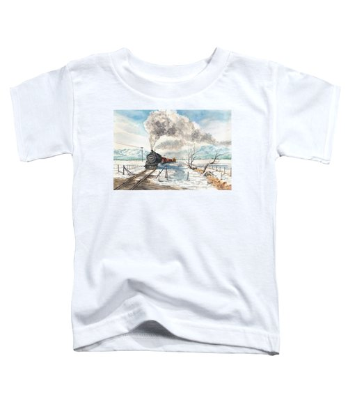 Snowy Crossing Toddler T-Shirt