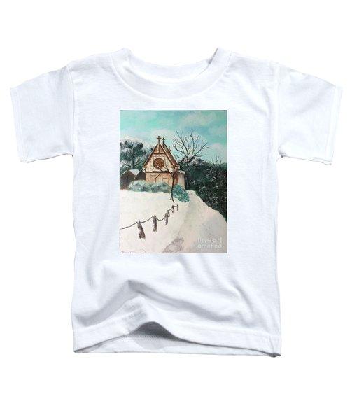 Snowy Daze Toddler T-Shirt