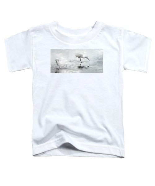 Snowy Egrets Toddler T-Shirt