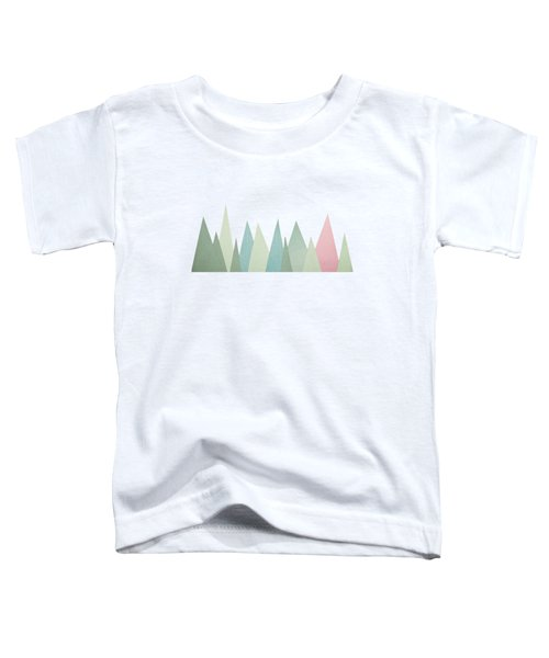 Snowy Mountains Toddler T-Shirt