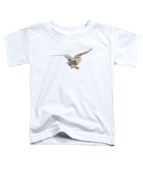 Snowy Owl T-shirt Mug Graphic Toddler T-Shirt
