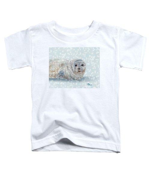 Snowy Seal Toddler T-Shirt