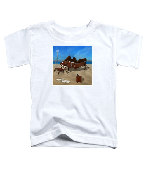 Softe Grand Piano Se Sq Toddler T-Shirt by Mike McGlothlen
