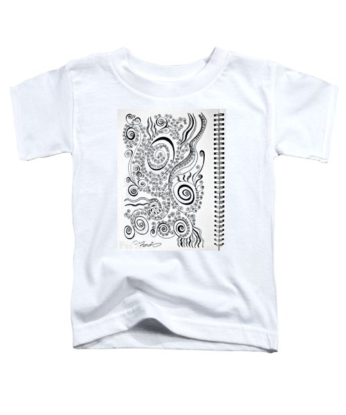 Sound Of The Lines Toddler T-Shirt