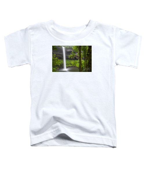 South Falls In Silver Falls State Park Toddler T-Shirt