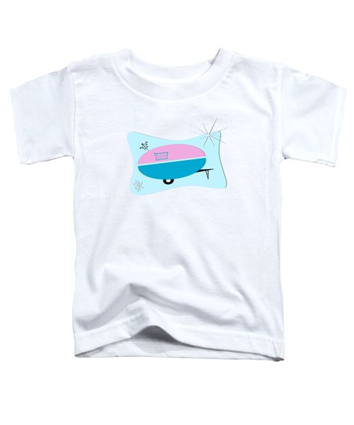 Space Age Camper Toddler T-Shirt
