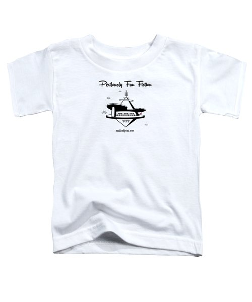 Space Station Toddler T-Shirt by Ana Baird