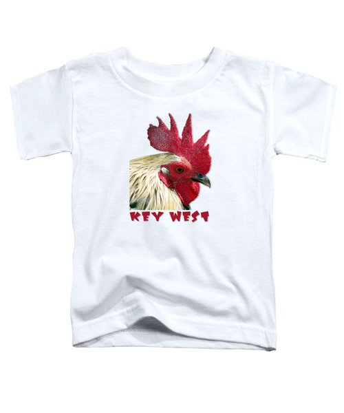 Special Edition Key West Rooster Toddler T-Shirt