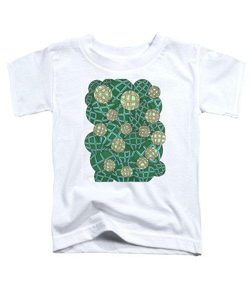 Spheres Cluster Green Toddler T-Shirt