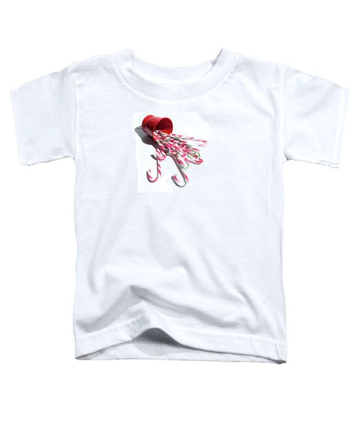 Spilled Candy Canes Toddler T-Shirt