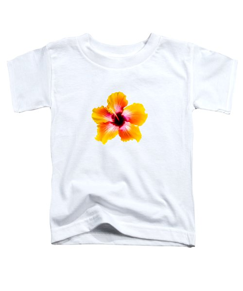 Spin The Bottle Hibiscus Toddler T-Shirt