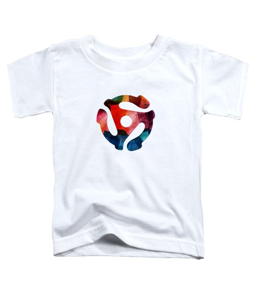 Spinning 45- Art By Linda Woods Toddler T-Shirt