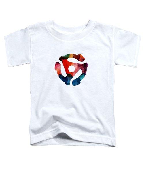 Spinning 45- Art By Linda Woods Toddler T-Shirt