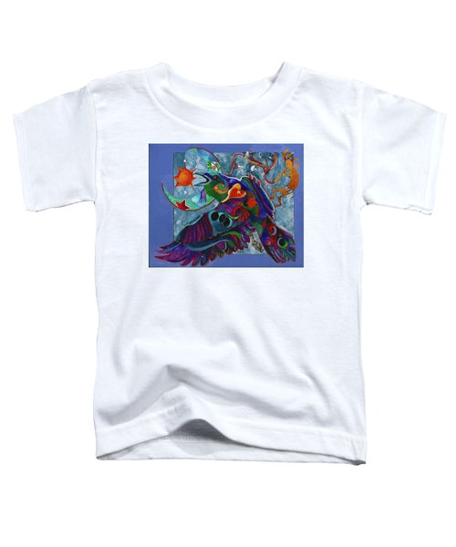 Spirit Raven Totem Toddler T-Shirt