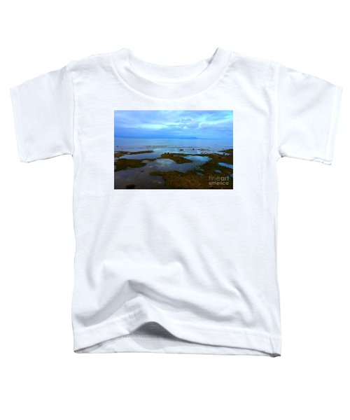 Spooky Morning Tide Receded From Beach Toddler T-Shirt