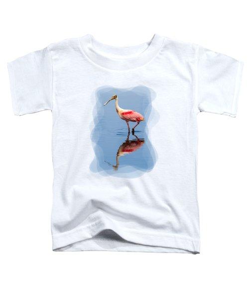 Spoonbill 3 Toddler T-Shirt