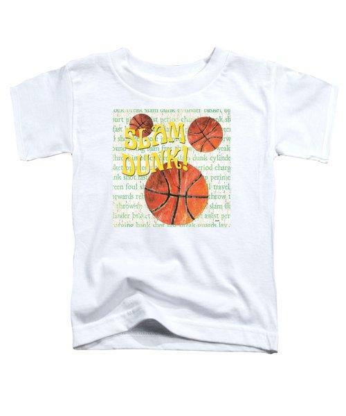 Sports Fan Basketball Toddler T-Shirt