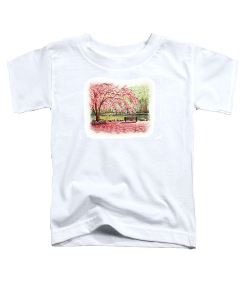 Spring At Lithia Park Toddler T-Shirt
