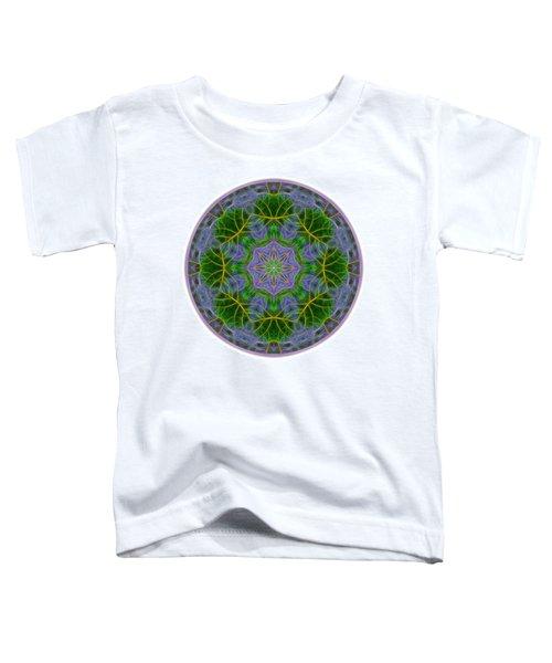 Spring Bloom Colors Mandala Toddler T-Shirt